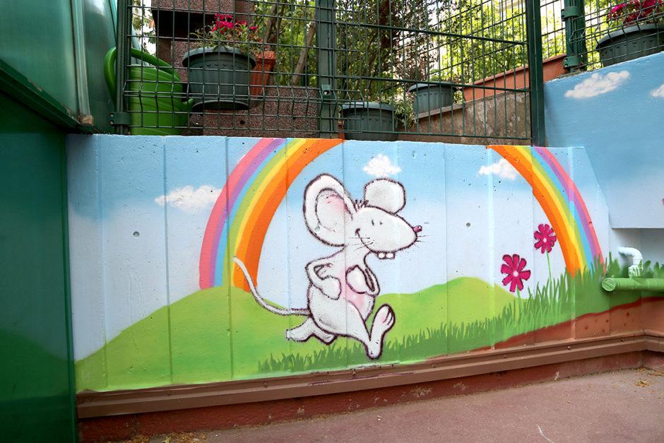 souvent Ecole Faidherbe – Fresque murale pour école maternelle – Le Petit  AL94
